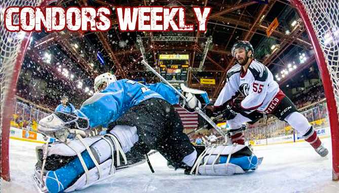Weekly Update: Condors return home this weekend