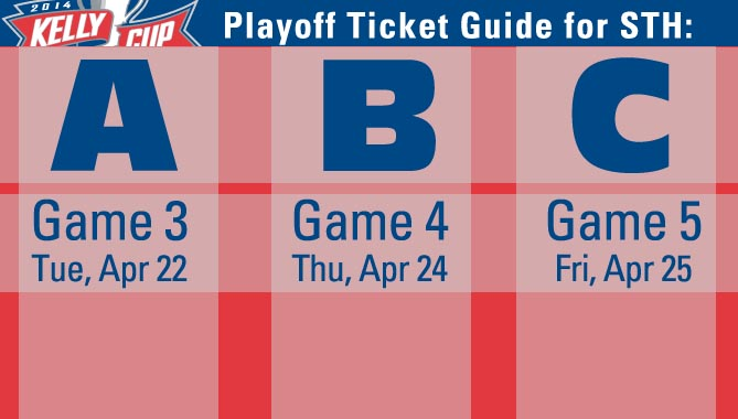 Season Ticket Holders – playoff games in your ticket books