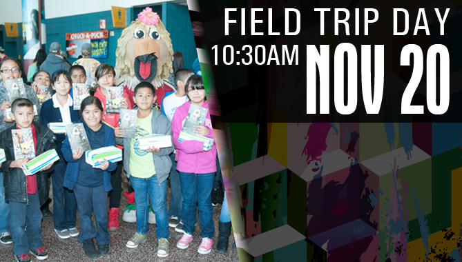 Field Trip Day Game - Nov. 20
