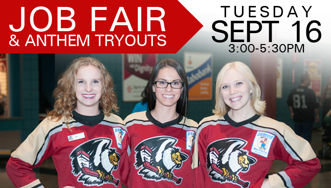 Job Fair & Anthem Tryouts – Sept. 16