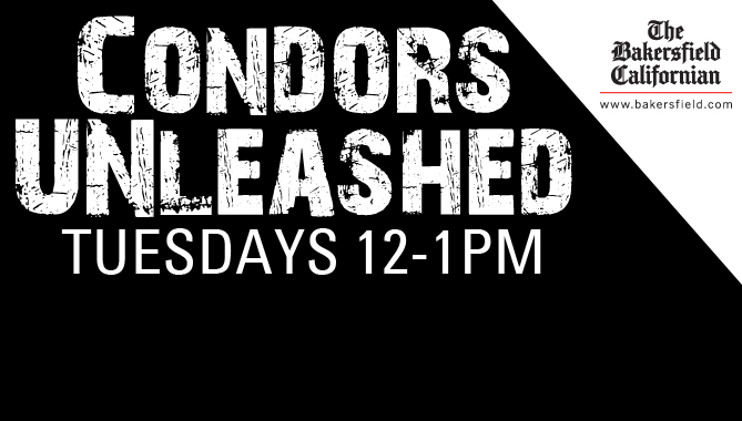 CONDORS UNLEASHED – Tuesdays 12-1 p.m.