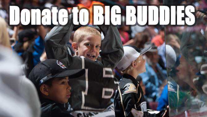 Big Buddies – Help underprivileged kids on Nov. 29