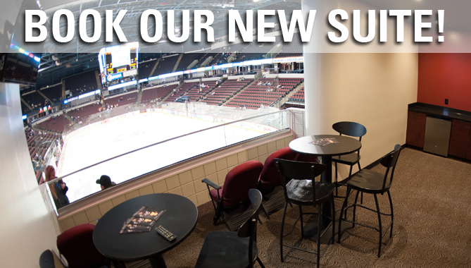 New Loge Suites – perfect for your party!
