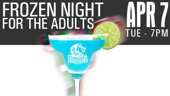 $5 Margaritas – Tuesday Apr. 7