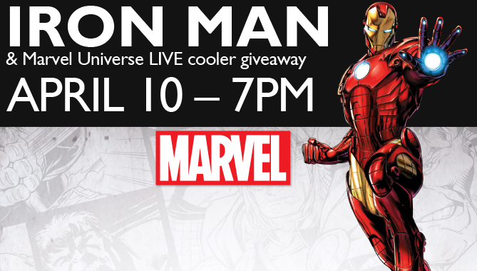 Iron Man, last game of season – Friday Apr. 10