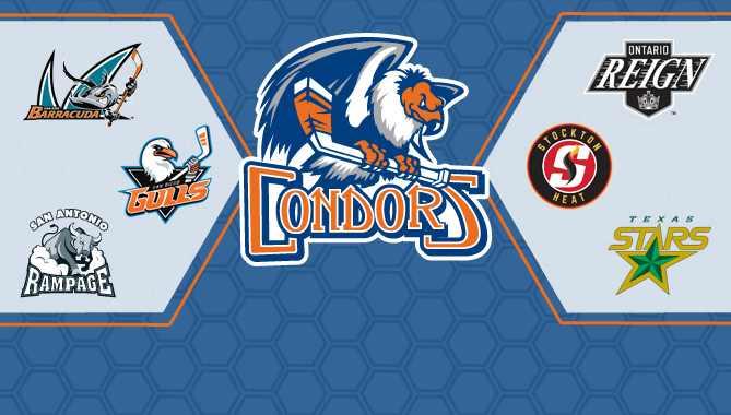 Condors part of new 7-team AHL Pacific Division