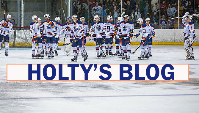 HOLTY'S BLOG: A New Chapter