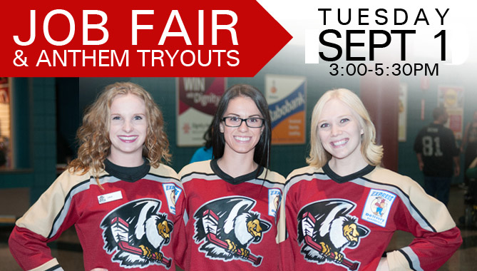 Job Fair and Anthem Tryouts