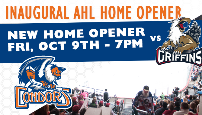 Condors to open with Grand Rapids – NEW DATE