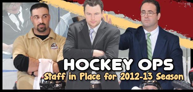 Hockey Staff - BakersfieldCondors.com