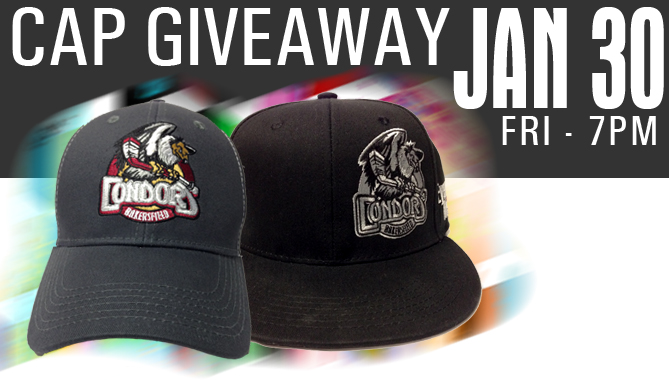 Three Way Chevrolet Bakersfield >> BakersfieldCondors.com | Cap Giveaway – Friday Jan. 30