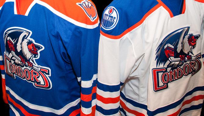 Condors unveil new AHL jerseys 060bcf22a25